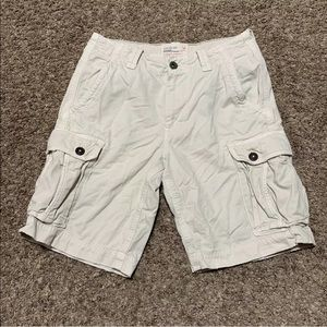American Eagle Outfitters Light Tan Cargo Shorts
